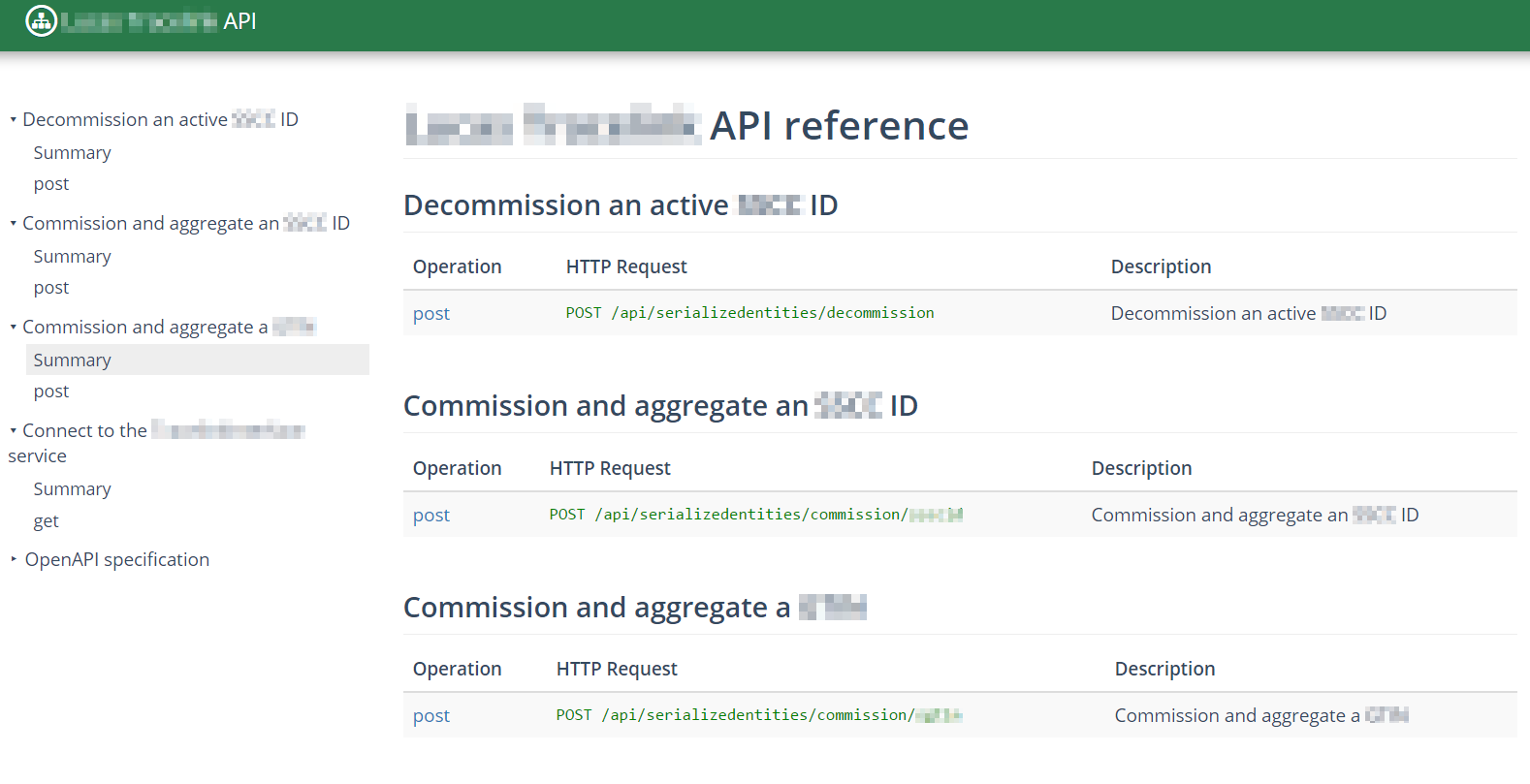 DapperDox API reference screenshot